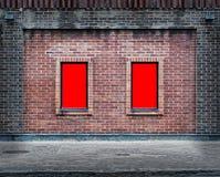 Dwa pustej deski 03 Zdjęcie Stock