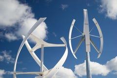 Wiatrowa energia Zdjęcie Royalty Free
