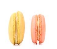 Dwa różnorodnego macaron torta. Fotografia Stock