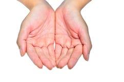 Dwa ręki Zdjęcie Royalty Free