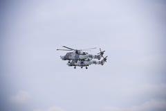 Dwa RAF helikopteru Fotografia Royalty Free