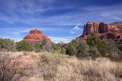 Dwa Sławnej Czerwonej Rockowej formaci obraz stock