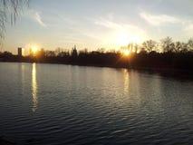 dwa słońca Obrazy Royalty Free