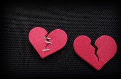 Dwa serca Zdjęcia Royalty Free