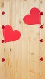 dwa serca Obrazy Stock