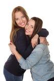 Dwa siostry, bliźniacy Zdjęcie Royalty Free