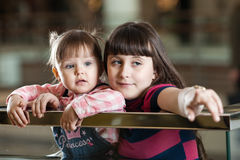 Dwa siostry Obraz Royalty Free