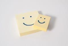 Dwa smiley poczta ja Fotografia Stock