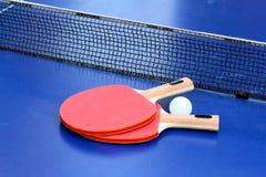 Dwa stołowy tenis Zdjęcie Stock