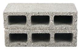 Odosobneni budowa bloki - Dwa Fotografia Royalty Free