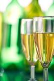 Dwa szkła szampan Obrazy Royalty Free