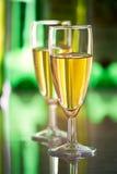 Dwa szkła wino Obraz Royalty Free