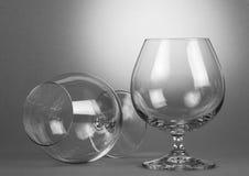dwa szklanek wina Zdjęcie Royalty Free