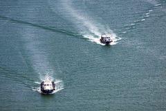 Dwa towboats, Singapur Obrazy Royalty Free