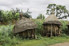 Dwa tradycyjnego afrykańskiego świronu zdjęcia stock