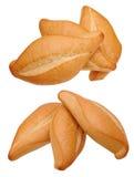 Dwa trzy chleba kąta różny widok Obrazy Royalty Free