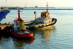 Dwa tugboats Fotografia Royalty Free
