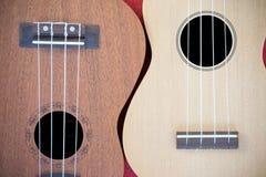 Dwa ukulele Zdjęcie Royalty Free