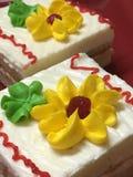 Dwa warstwa torta Zdjęcie Stock