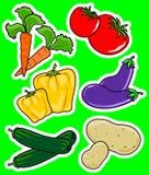 dwa warzywo Obrazy Stock