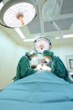 dwa weterynarzów doktorski działanie w sala operacyjnej Obraz Royalty Free