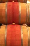 Dwa wino baryłki Zdjęcie Stock