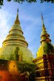 Dwa złota pagoda Zdjęcie Stock