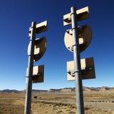dwa znaki drogowe Fotografia Stock