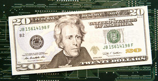 Cyfrowej waluta Zdjęcia Stock