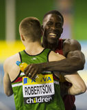 Dwain Chambers Royalty Free Stock Photography