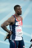 Dwain Chambers of Great Britain Stock Images