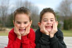 dwaj bracia Zdjęcie Stock
