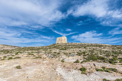 Dwajra Tower located in Gozo Island, Malta. Stock Images