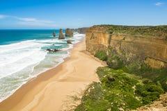 Dwanaście apostołów, Australia Zdjęcia Royalty Free