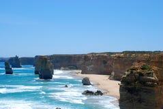 Dwanaście apostoła morza skał Obraz Stock