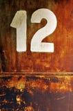 dwanaście Zdjęcie Stock
