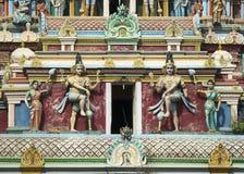 2 Dwarapalakas, хранители двери лорда Shiva Стоковые Изображения