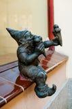 Dwarf Bartonik, Wroclaw stock image