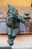 Dwarf Bartonik, Wroclaw stock photos