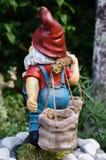 Dwarf in the garden royalty free stock photos