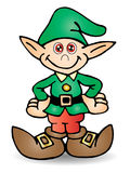 Dwarf illustration. Colored cartoon Dwarf illustration as vector Stock Image