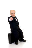 Dwarf, little businessman Stock Photo
