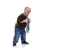 Dwarf, little man stock photography
