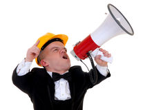 Free Dwarf, Little Man Supervisor Stock Photo - 4339730
