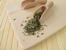Dwarf mallow leaves, Malvae folium. In herbalism Royalty Free Stock Image
