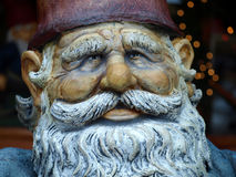 Dwarf man's face Stock Photo