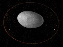 Dwarf planet Haumea Royalty Free Stock Images