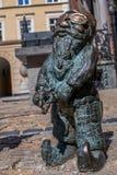 Dwarf Slepak Wroclaw stock images