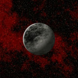 Dwarf Solitary Planet. Imaginary Dwarf Solitary Planet in the far universe Royalty Free Stock Image