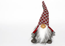 Dwarf toy on a white background. Stock Photography